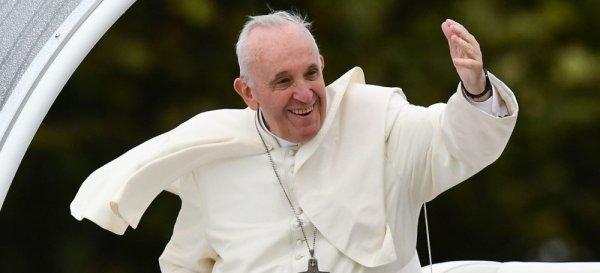 Ferenc pápa budapesti szentmiséje